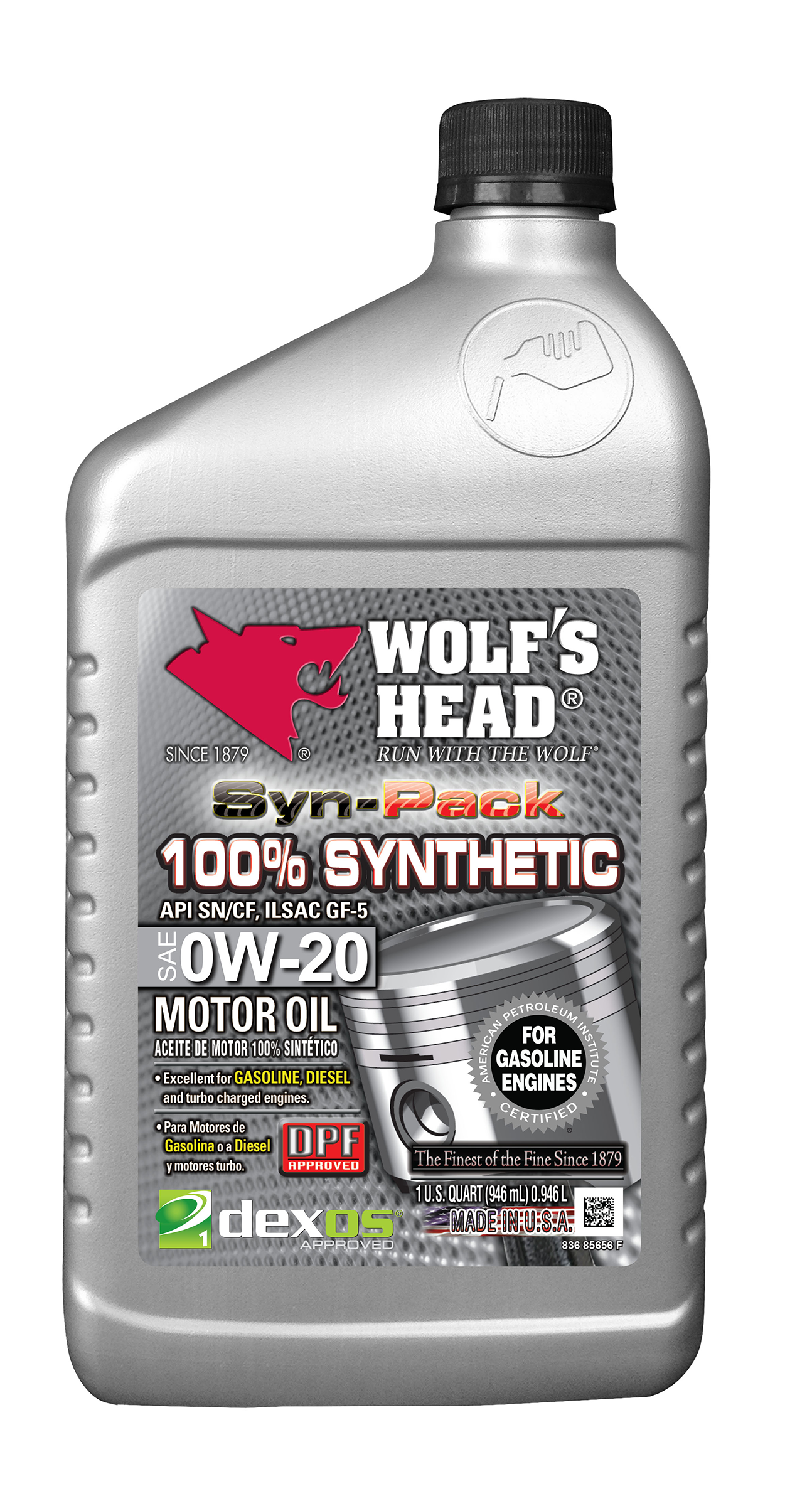 100 Synthetic 0w 20 Quart